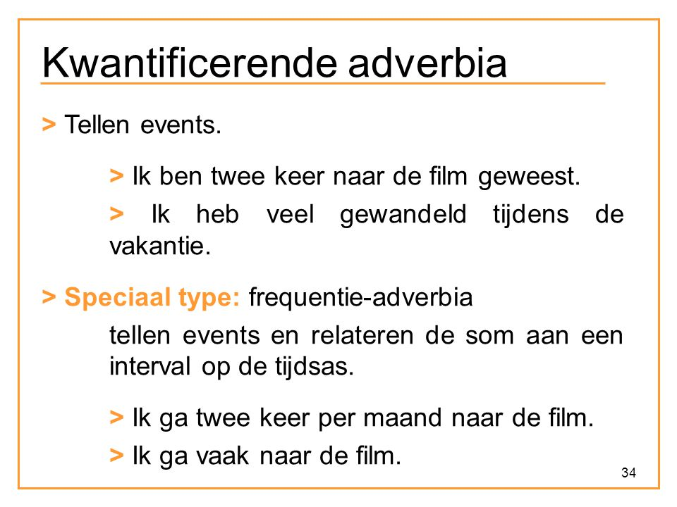Kwantificerende adverbia