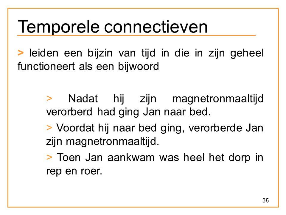 Temporele connectieven