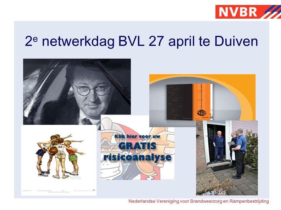 2e netwerkdag BVL 27 april te Duiven