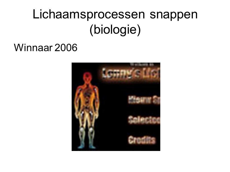 Lichaamsprocessen snappen (biologie)