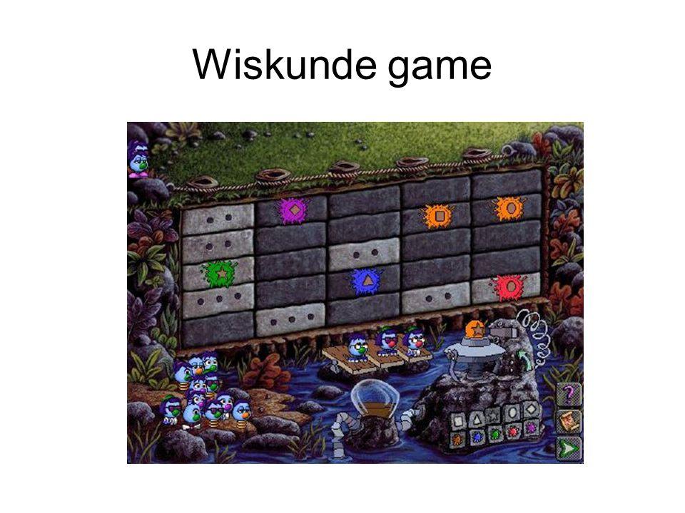 Wiskunde game