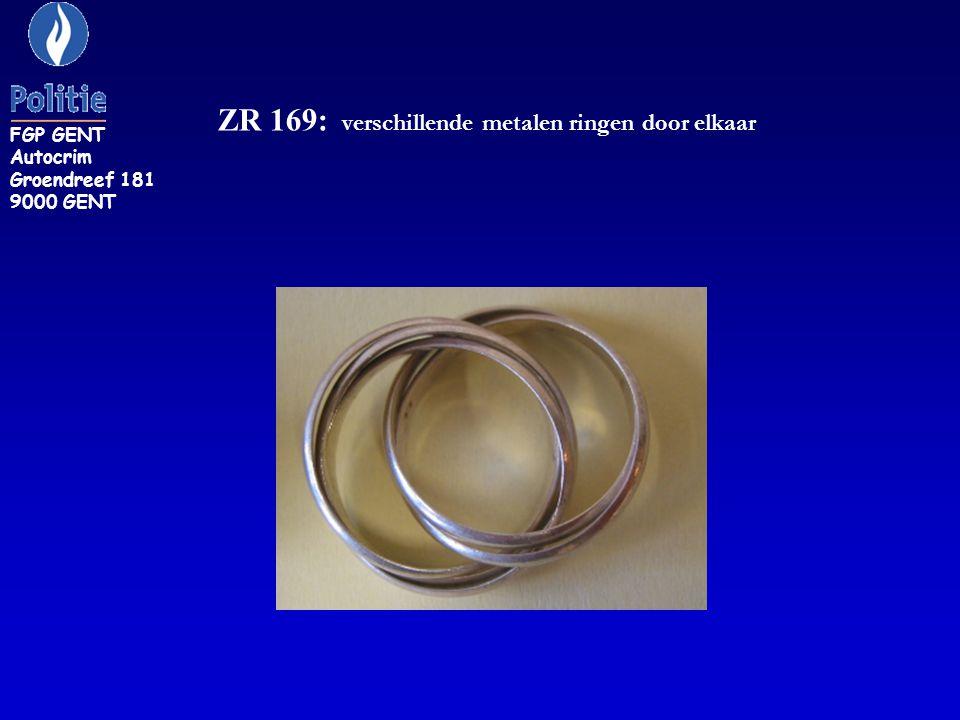 ZR 169: verschillende metalen ringen door elkaar