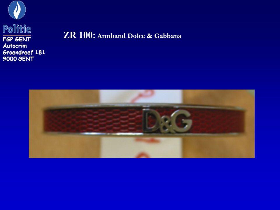 ZR 100: Armband Dolce & Gabbana