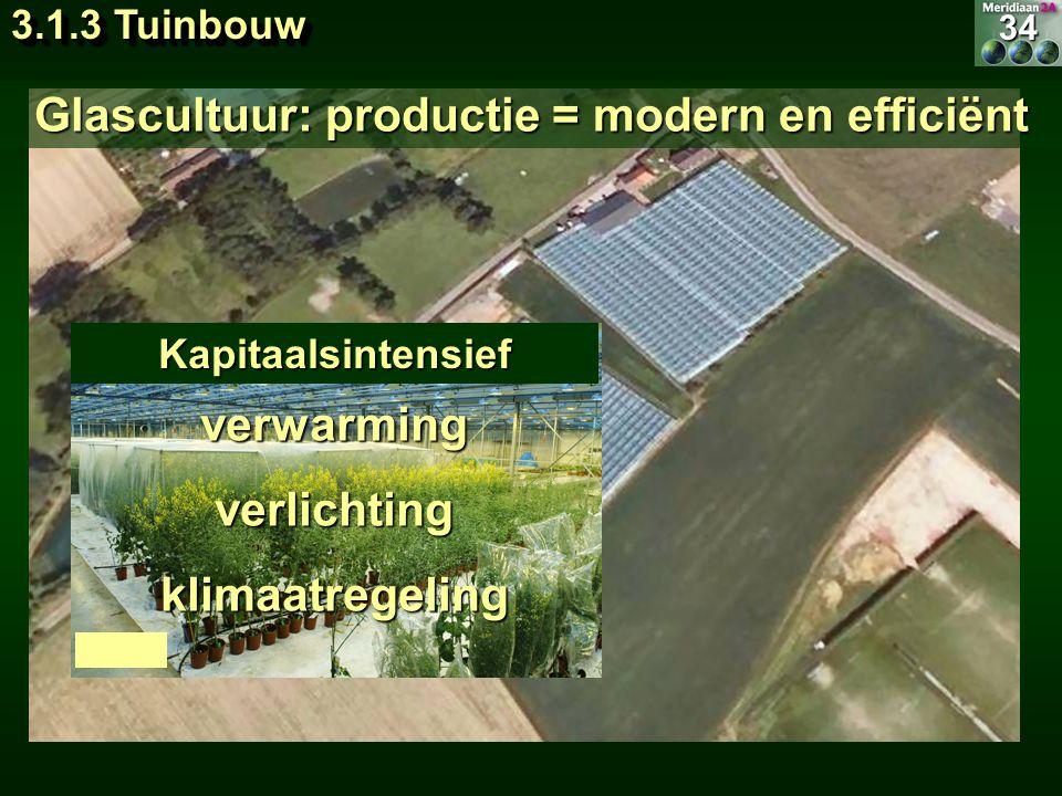 Glascultuur: productie = modern en efficiënt