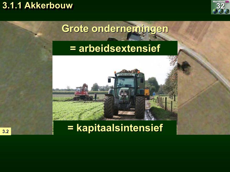 = landbouwtype waarbij gewassen verbouwd worden op akkers