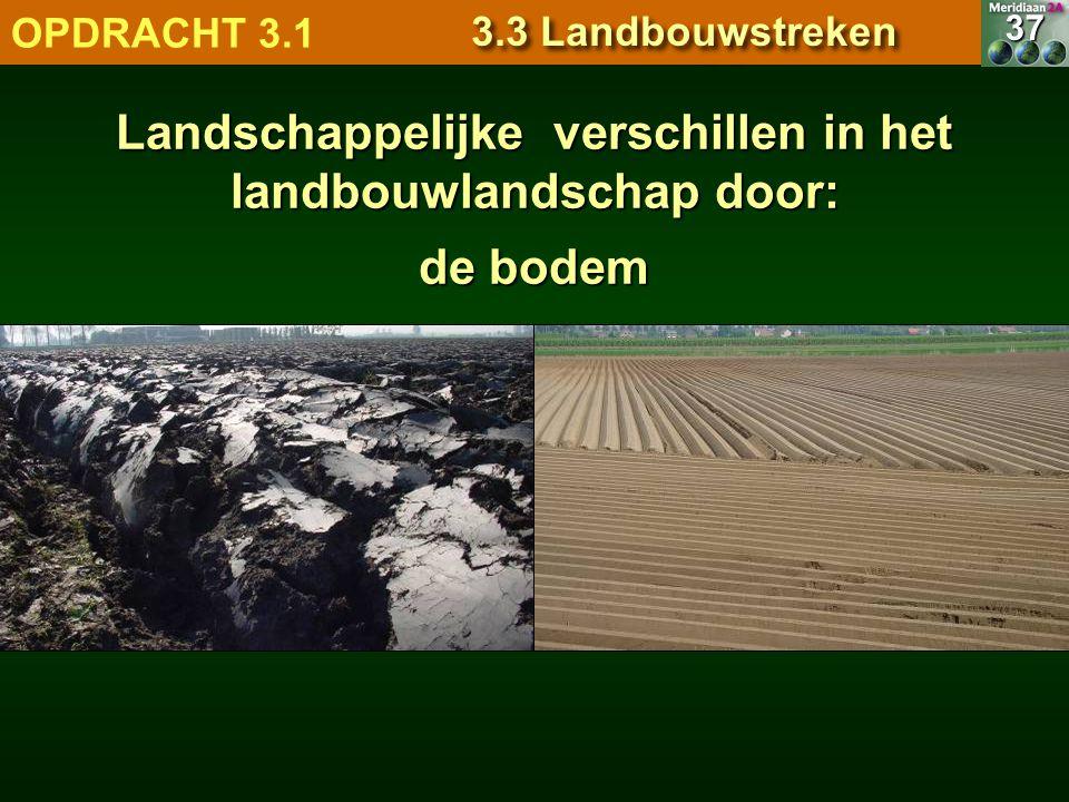 Landschappelijke verschillen in het landbouwlandschap door: