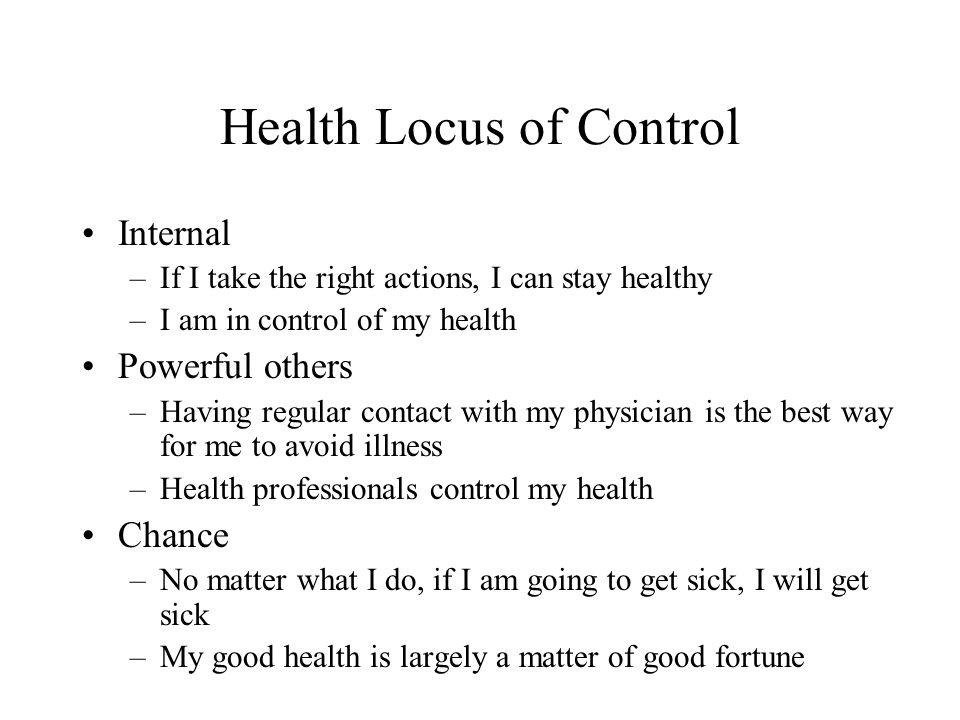 Health Locus of Control