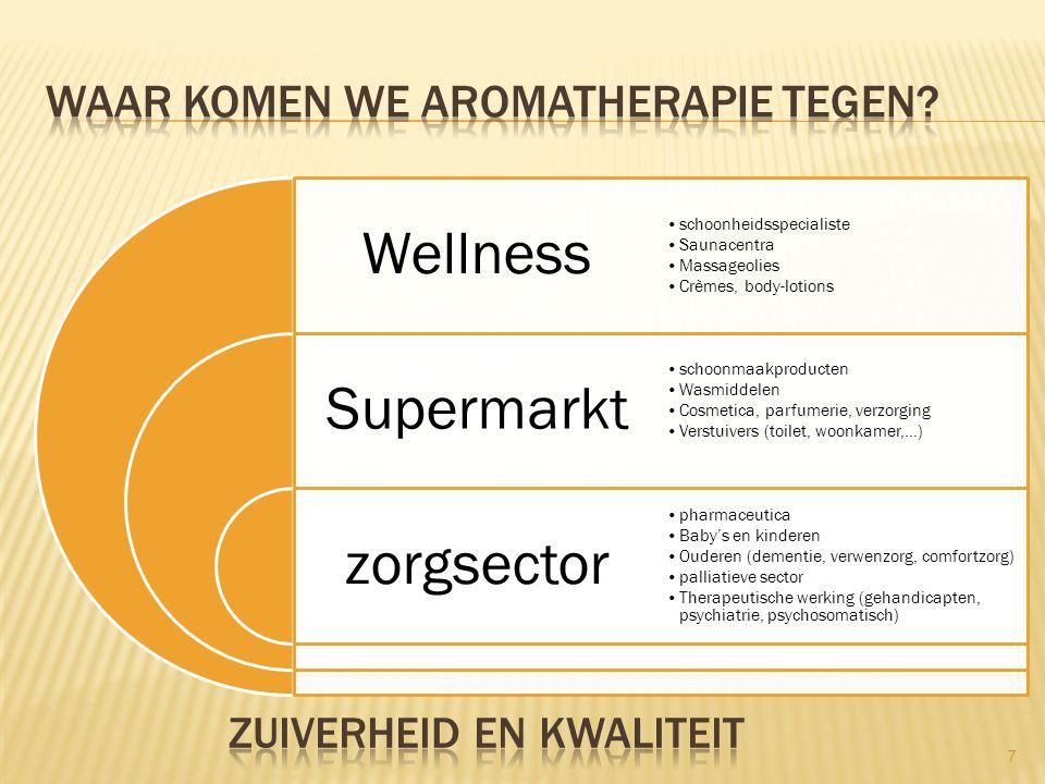 Waar komen we aromatherapie tegen