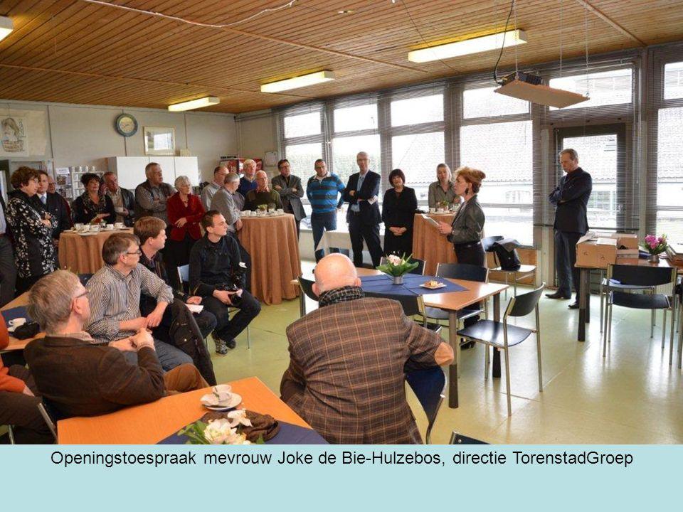 Openingstoespraak mevrouw Joke de Bie-Hulzebos, directie TorenstadGroep