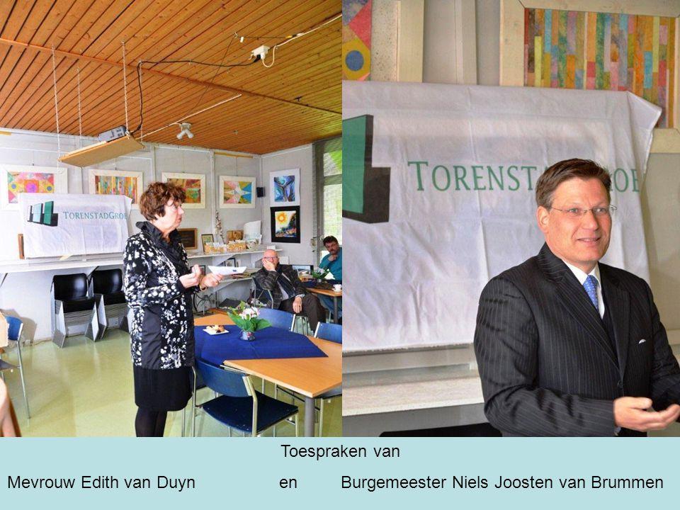 Toespraken van Mevrouw Edith van Duyn en Burgemeester Niels Joosten van Brummen