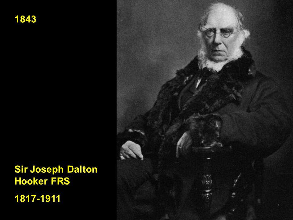1843 Sir Joseph Dalton Hooker FRS 1817-1911