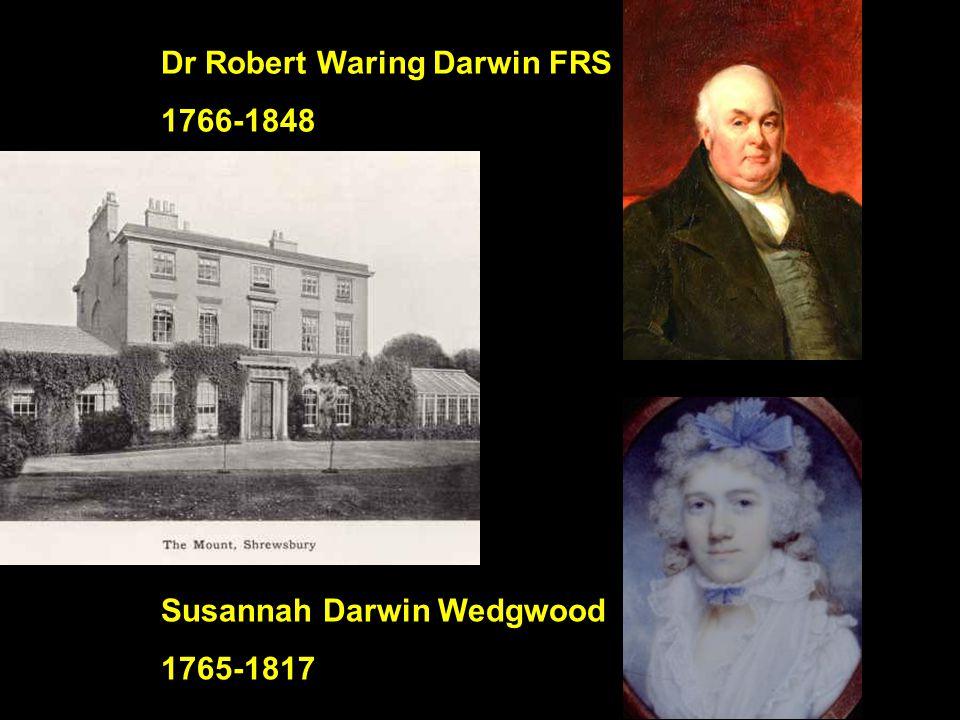 Dr Robert Waring Darwin FRS