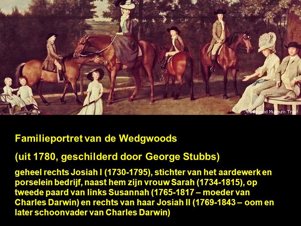 Familieportret van de Wedgwoods