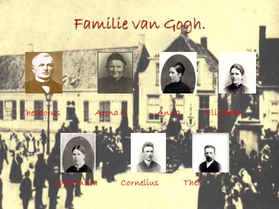 Familie van Gogh. Theodorus Anna C. Anna Elizabeth