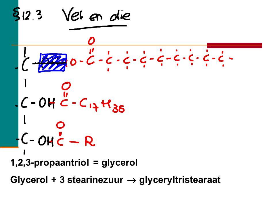 1,2,3-propaantriol = glycerol