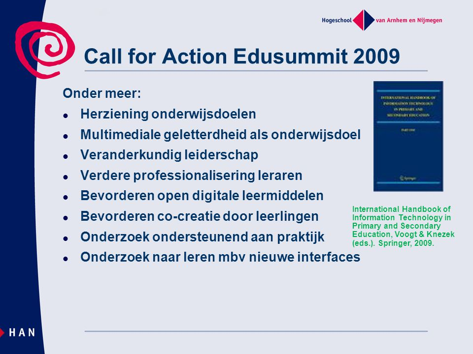 Call for Action Edusummit 2009