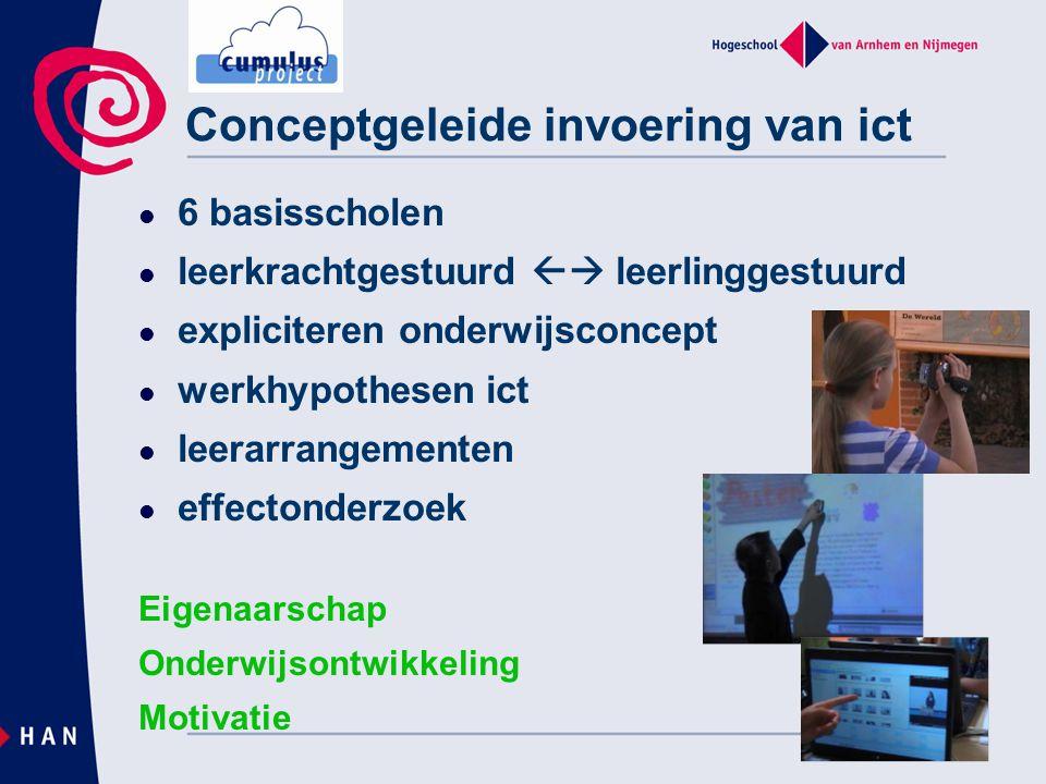 Conceptgeleide invoering van ict