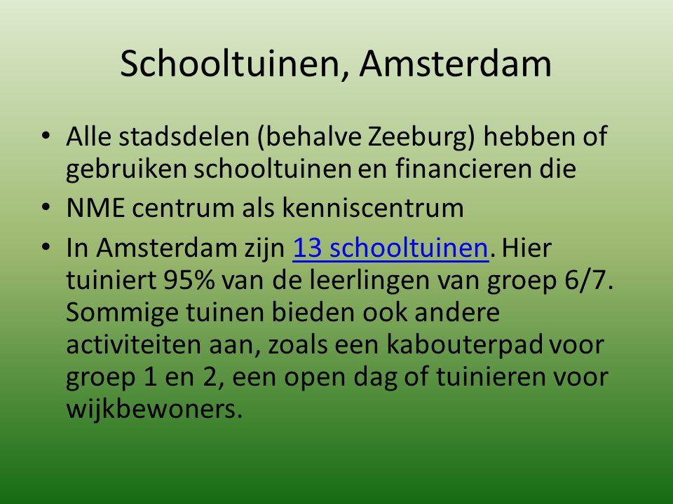 Schooltuinen, Amsterdam