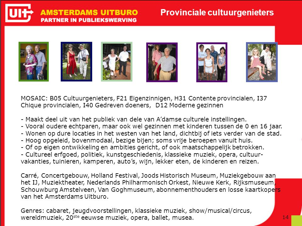 Provinciale cultuurgenieters