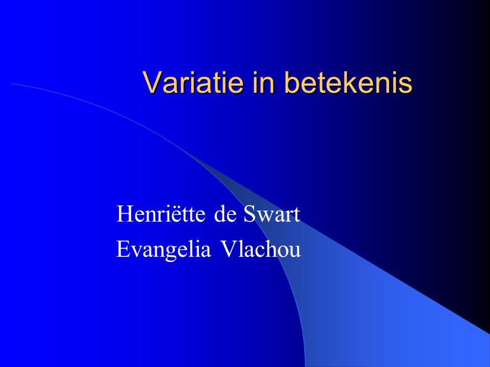 Henriëtte de Swart Evangelia Vlachou