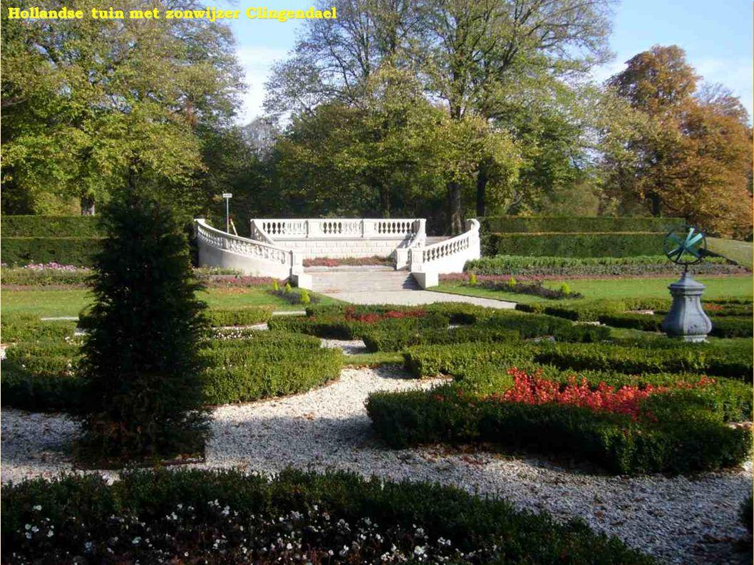 Hollandse tuin met zonwijzer Clingendael