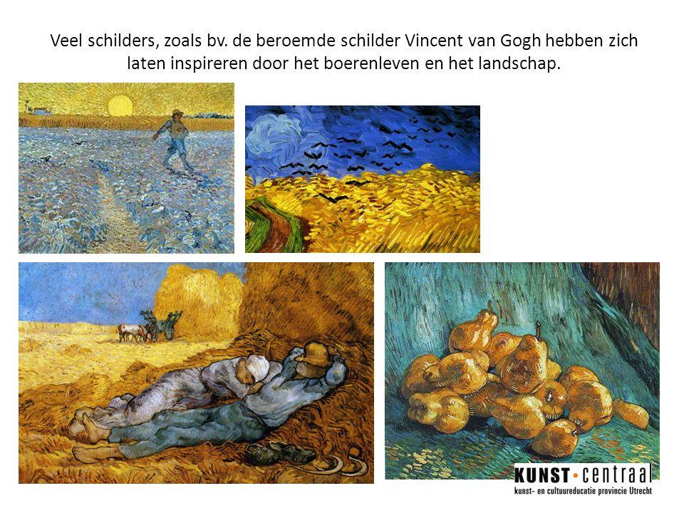 Veel schilders, zoals bv