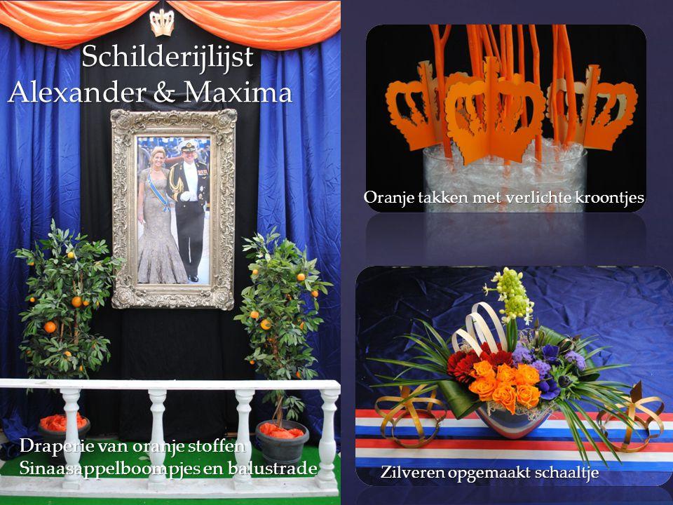 Schilderijlijst Alexander & Maxima