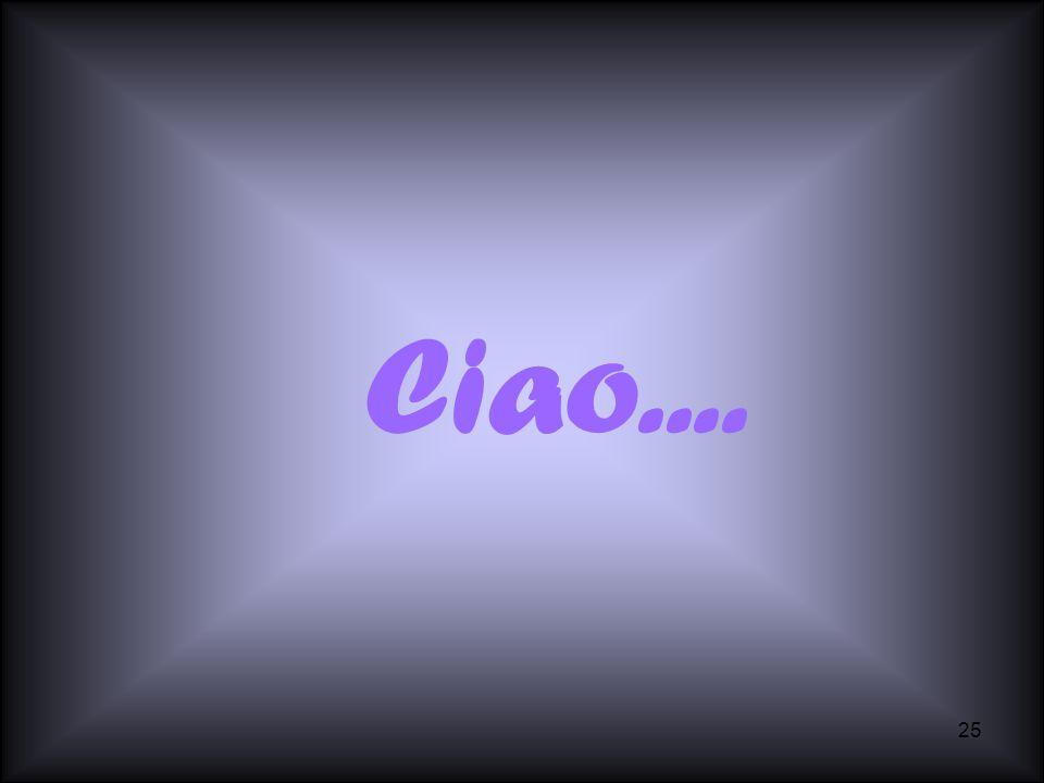 Ciao....