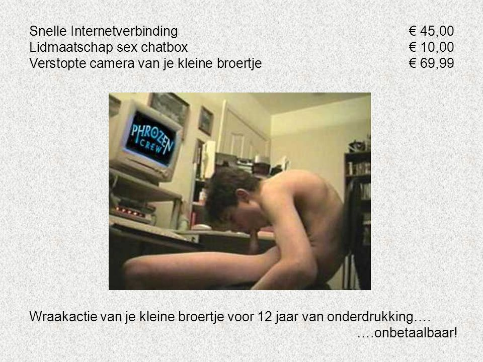 Snelle Internetverbinding € 45,00