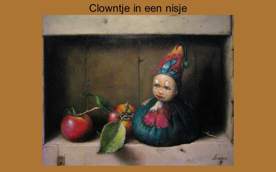 Clowntje in een nisje