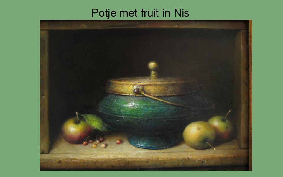 Potje met fruit in Nis