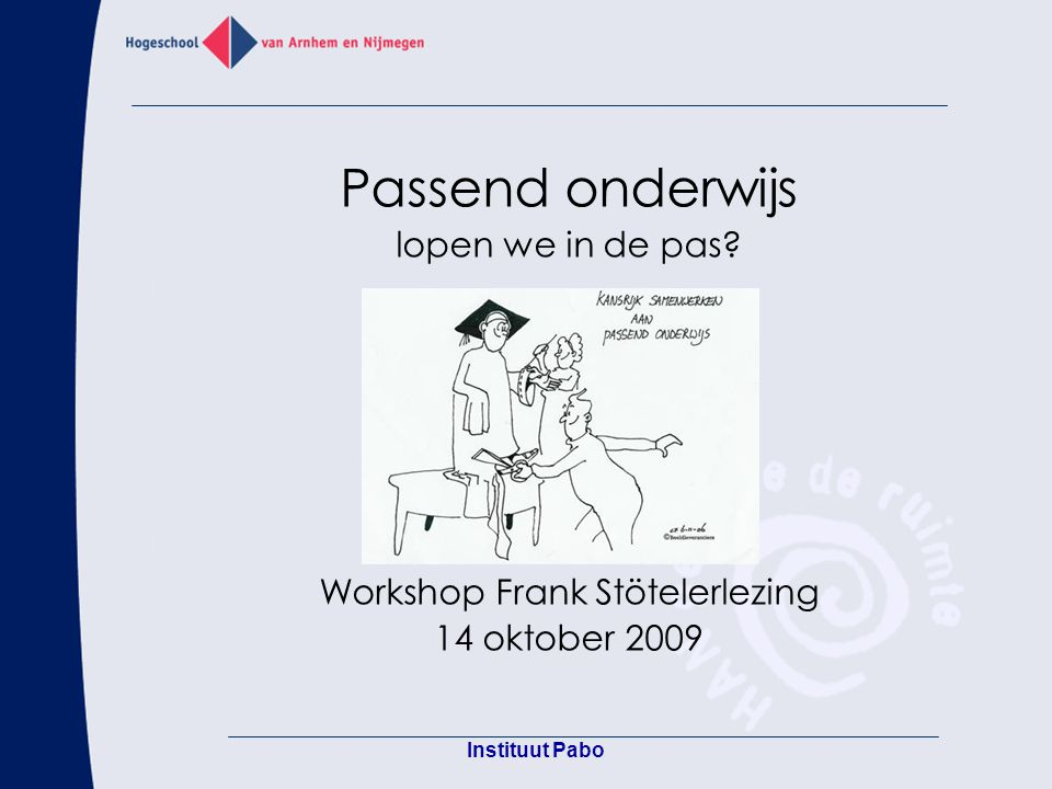 Workshop Frank Stötelerlezing