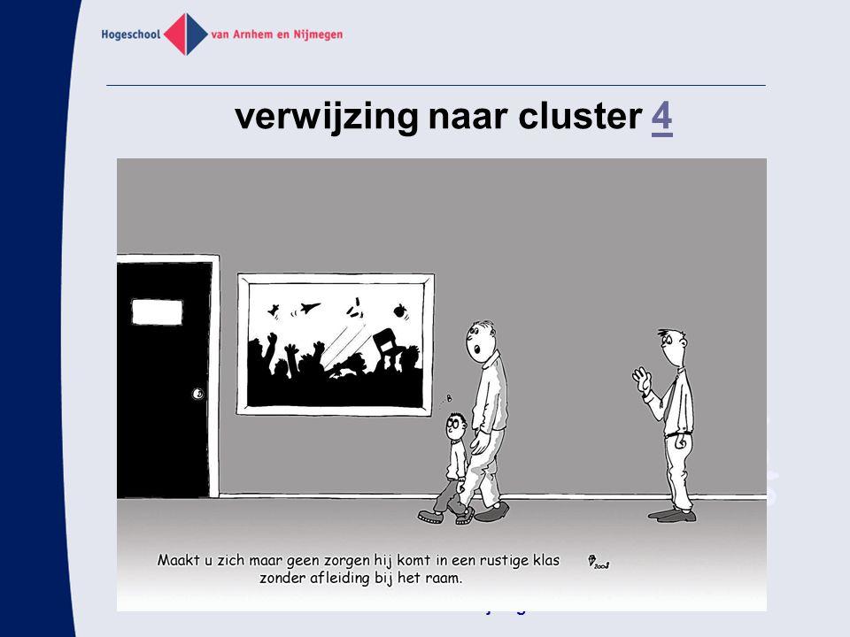 verwijzing naar cluster 4