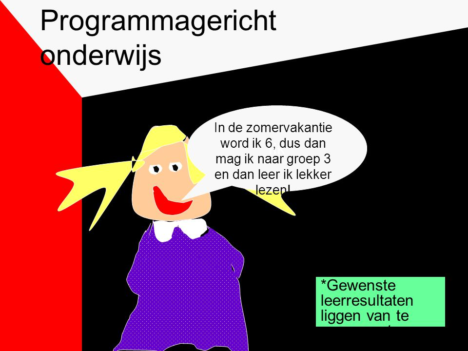 Programmagericht onderwijs