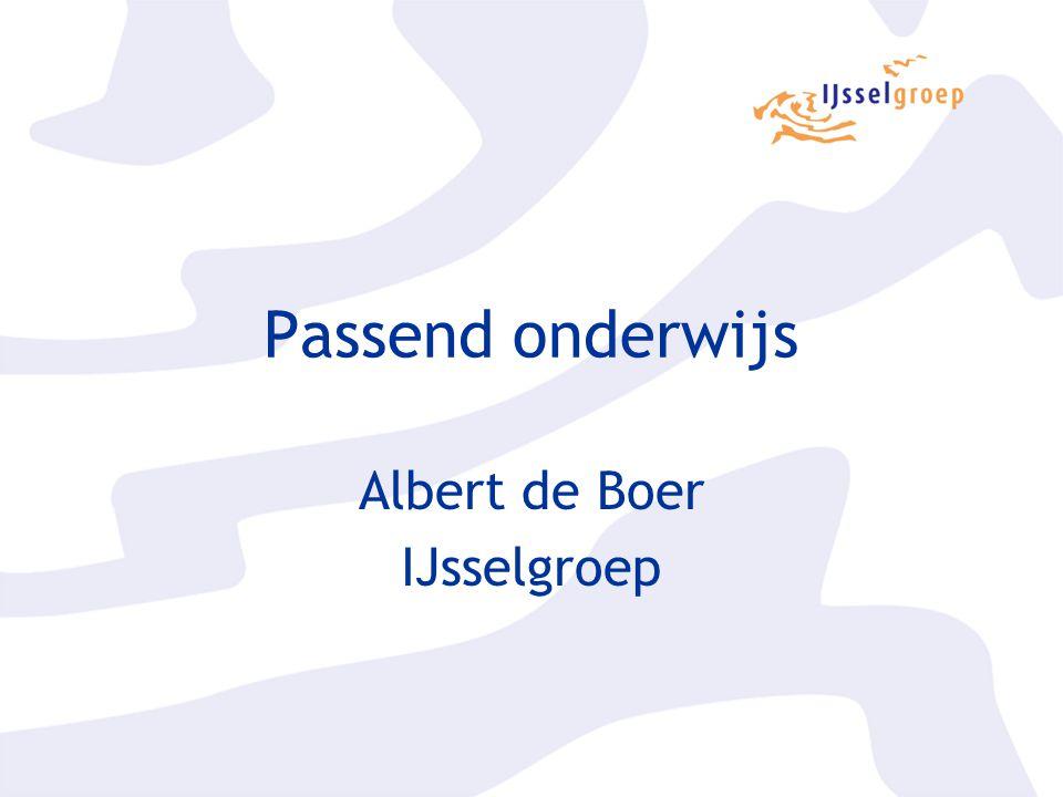 Albert de Boer IJsselgroep