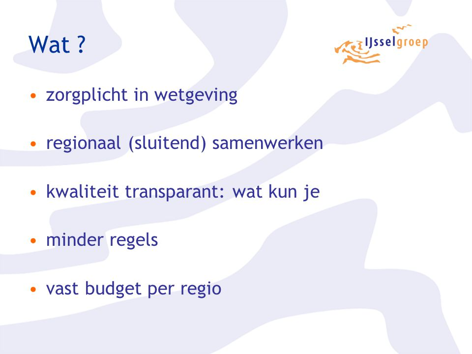 Wat zorgplicht in wetgeving regionaal (sluitend) samenwerken