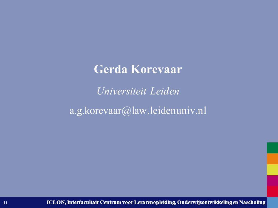 Gerda Korevaar Universiteit Leiden a.g.korevaar@law.leidenuniv.nl