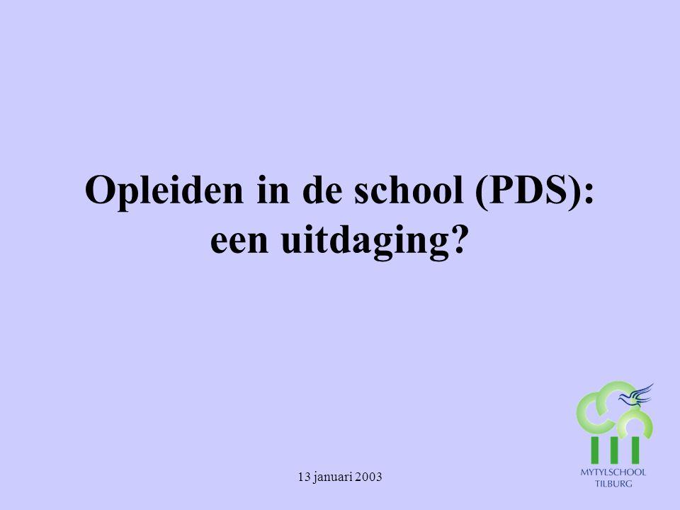 Opleiden in de school (PDS): een uitdaging