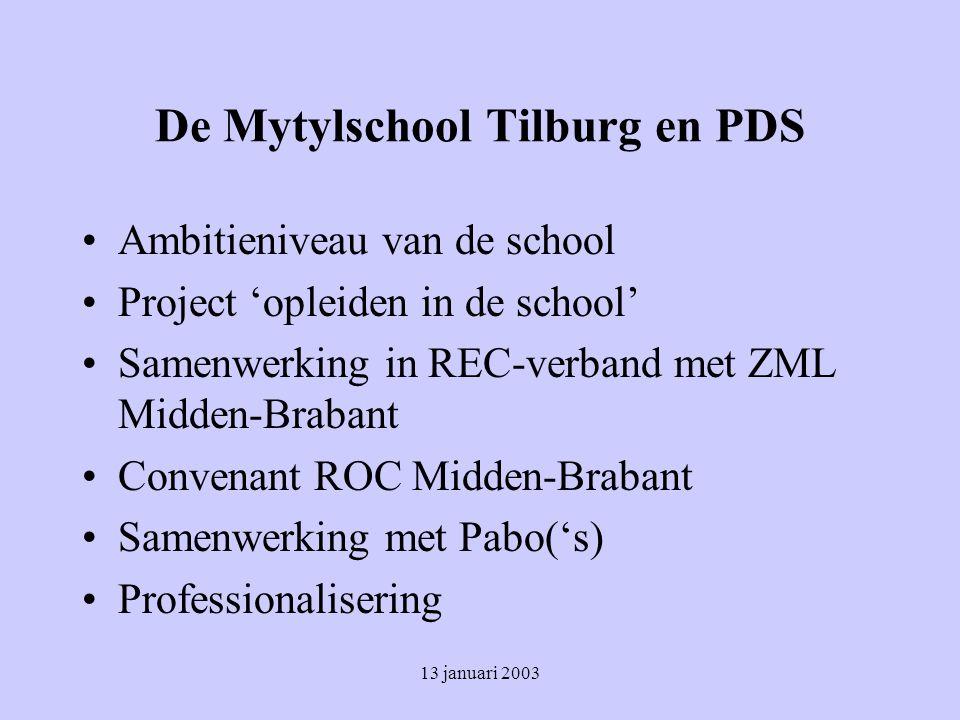 De Mytylschool Tilburg en PDS