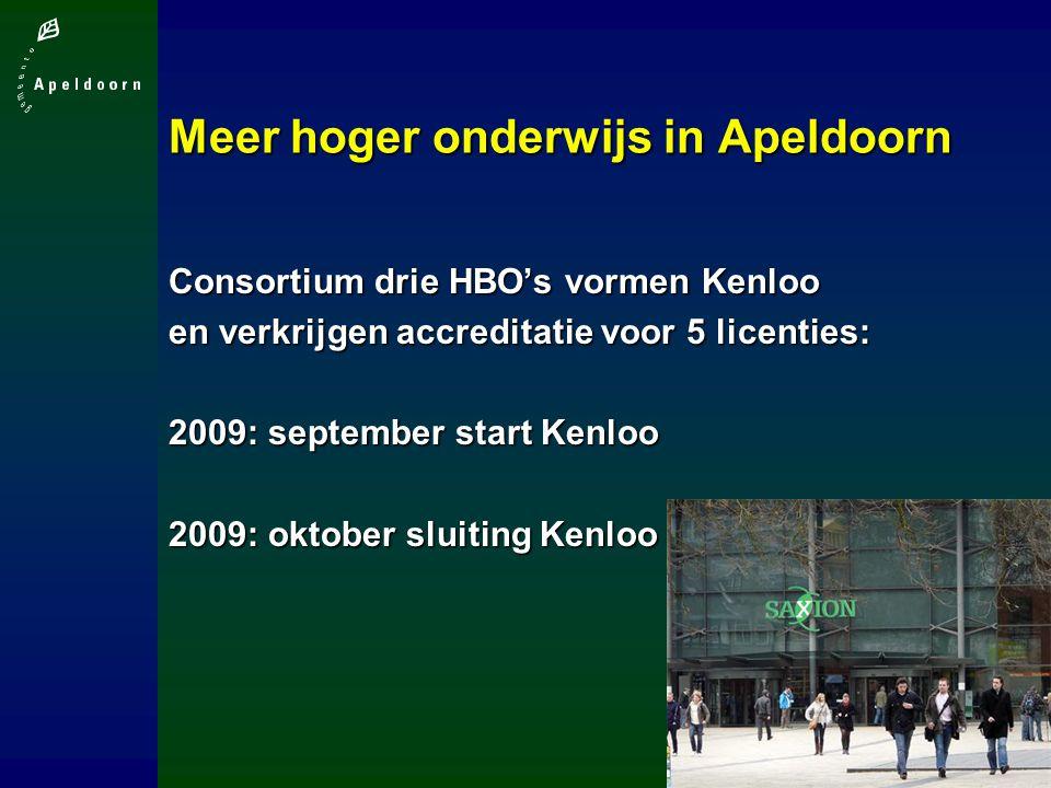 Meer hoger onderwijs in Apeldoorn