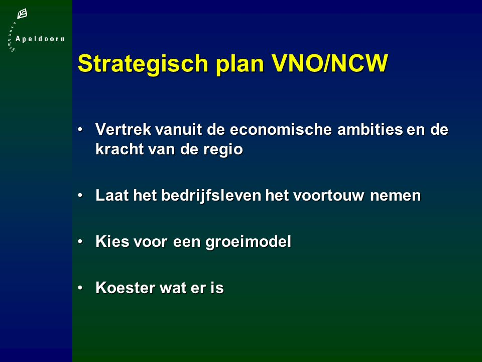 Strategisch plan VNO/NCW