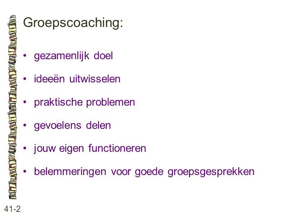Groepscoaching: gezamenlijk doel ideeën uitwisselen