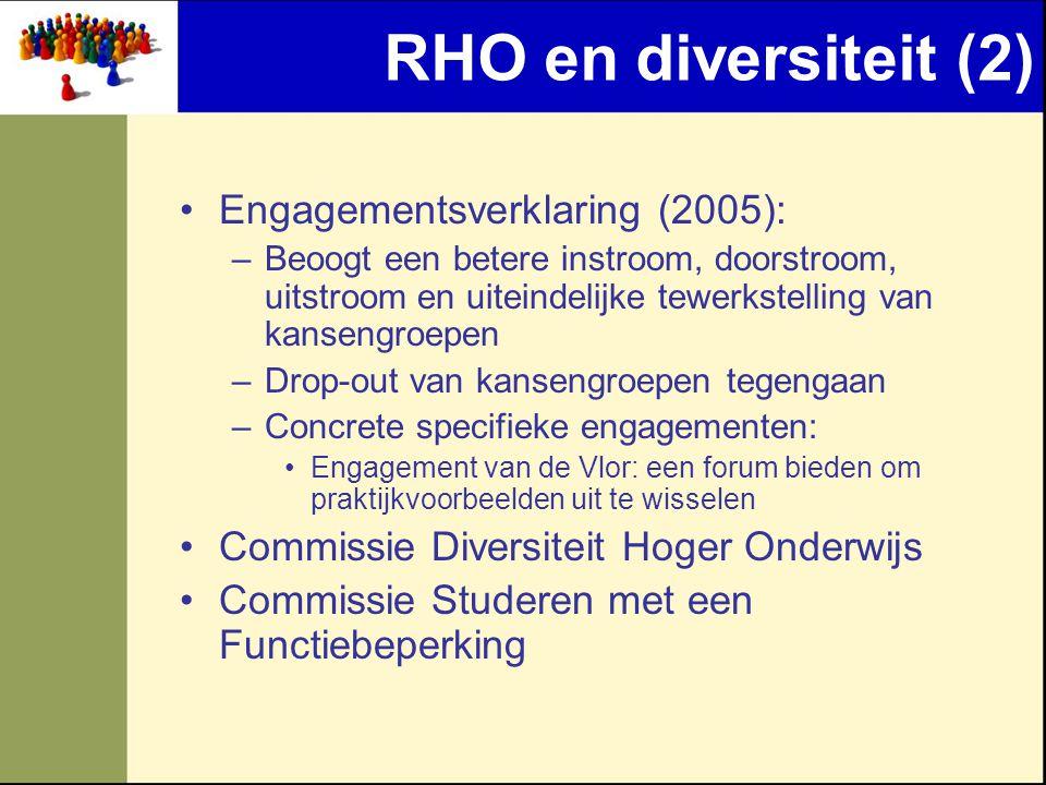 RHO en diversiteit (2) Engagementsverklaring (2005):