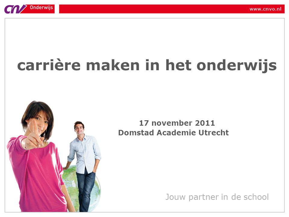 carrière maken in het onderwijs Domstad Academie Utrecht