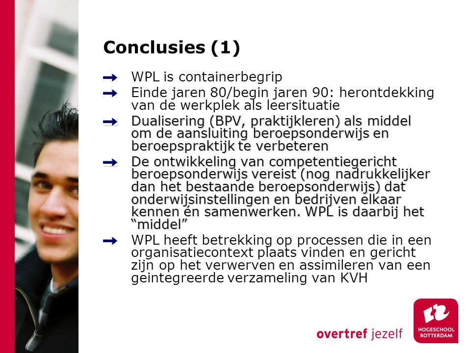 Conclusies (1) WPL is containerbegrip