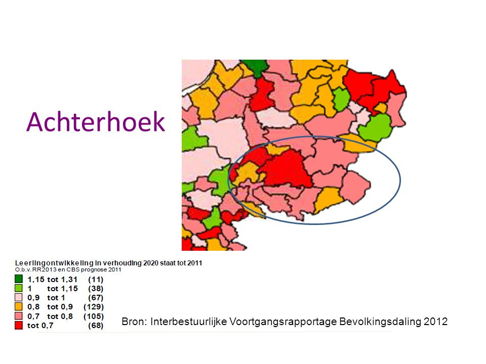Achterhoek In Achterhoek sterkste krimp verwacht in gemeente Bronckhorst.