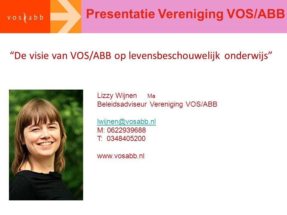 Presentatie Vereniging VOS/ABB