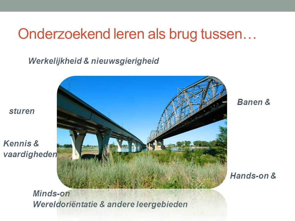 Onderzoekend leren als brug tussen…
