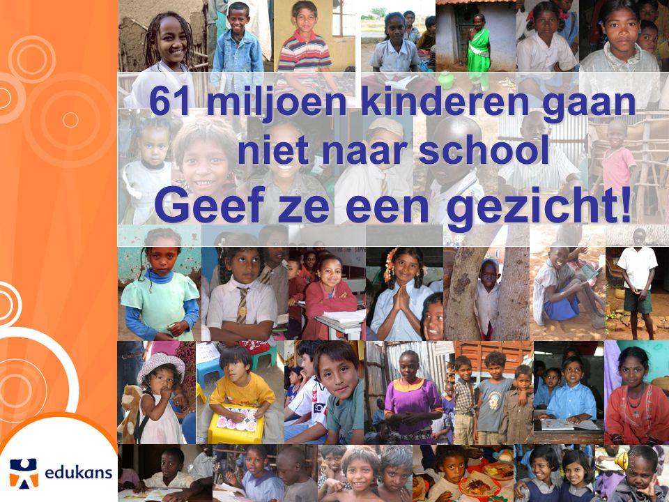 61 miljoen kinderen gaan niet naar school
