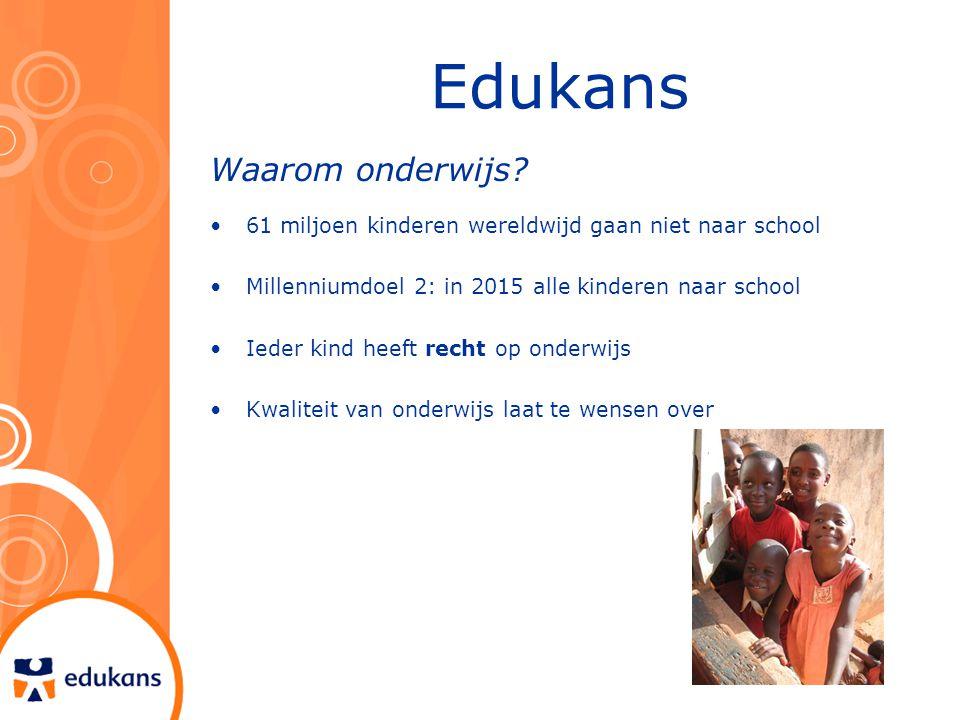 Edukans Waarom onderwijs